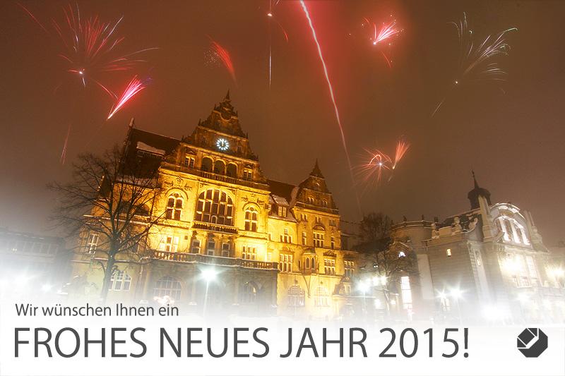 Wir wünschen Ihnen ein erfolgreiches neues Jahr!