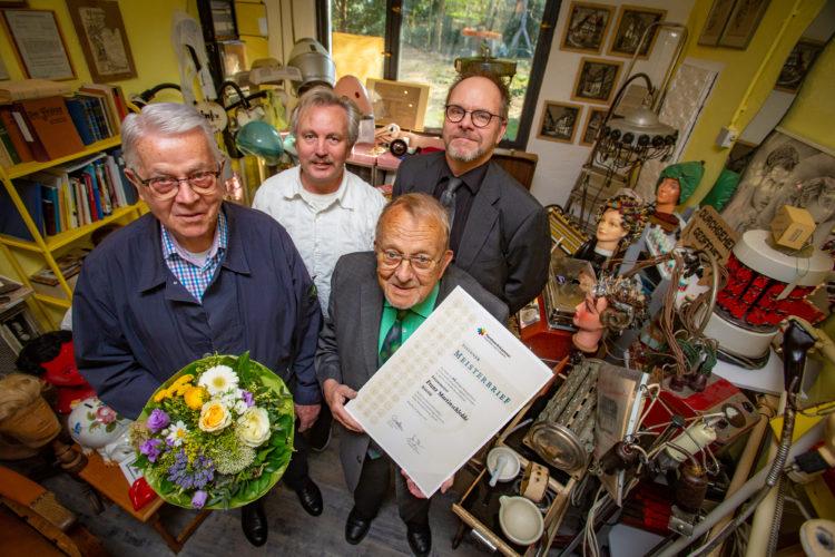 Martinschledde feiert eisernes Meisterjubiläum