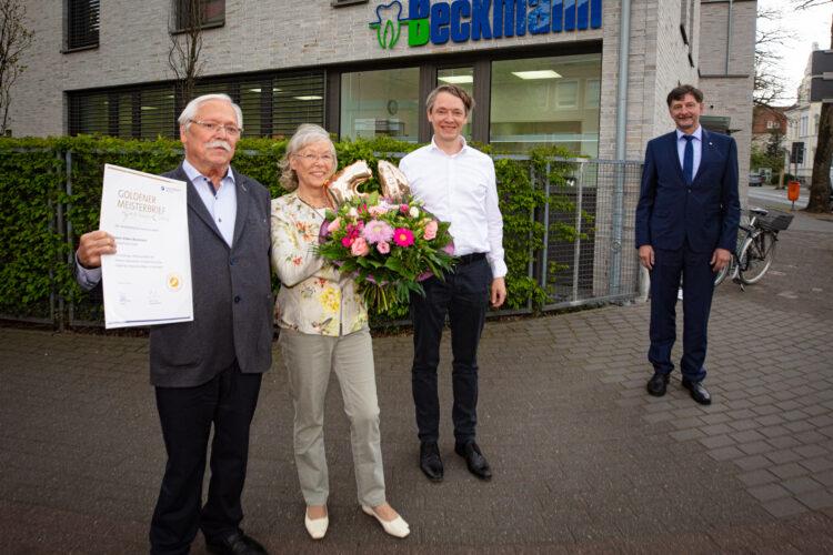 VOLKER BECKMANN FEIERT GOLDENES MEISTERJUBILÄUM